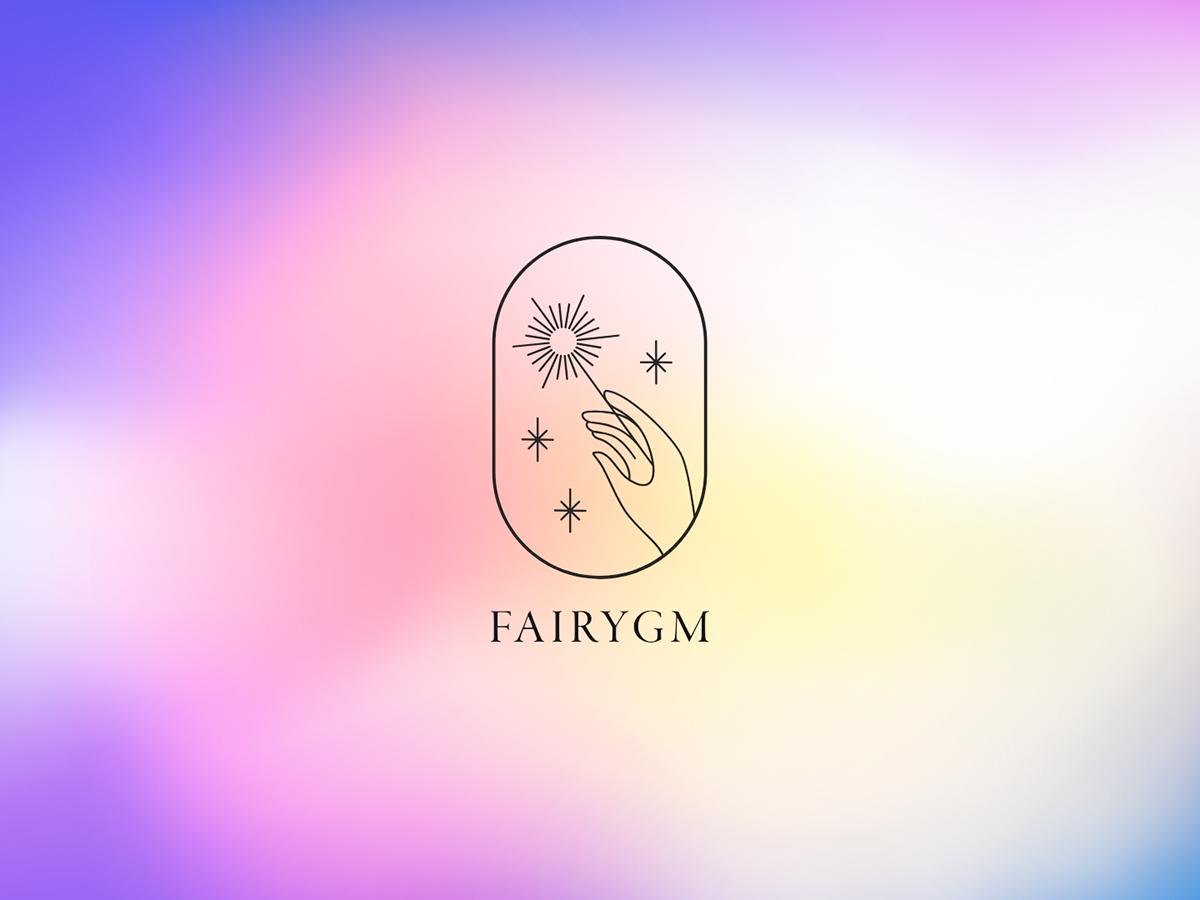 Logo for a fashion rental service branding logo