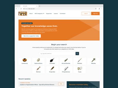 CAT-UXO Website