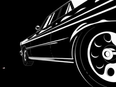 Hotbox wheels shine shiny frame by frame driving drive classic car muscle car smoking smoke car