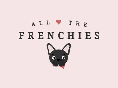 All The Frenchies Brand Design
