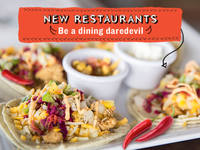 Dining Daredevil Email Advertisement