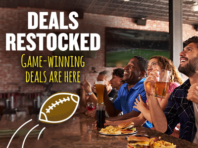 Restaurant.com Super Bowl Email Ad 2/1/19 handlettering typography stock photography design illustrator photoshop football super bowl email ads email
