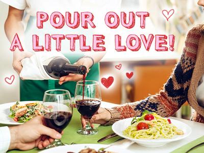 February Restaurant.com Marketing Campaign Email marketing campaign email photoshop love valentines day