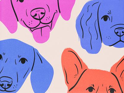 Sneak pt.2 corgi type dog sketch drawing design illustration