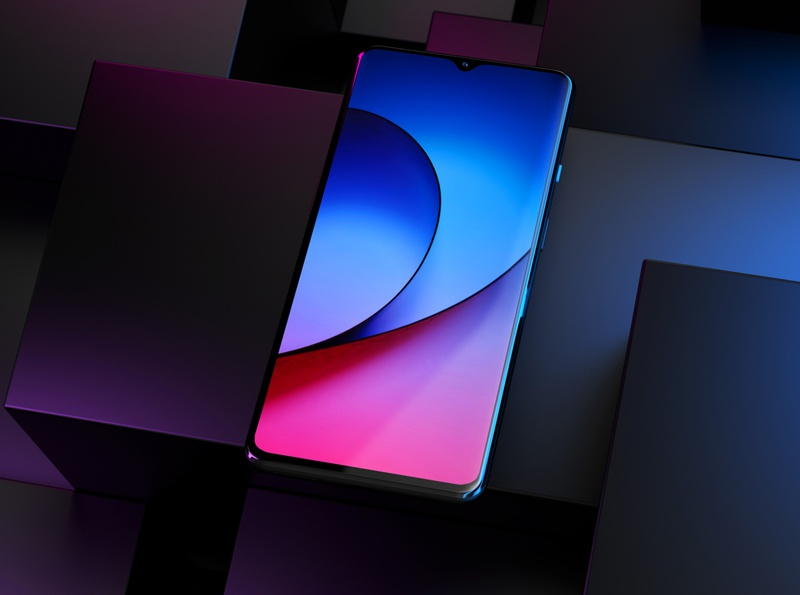 OnePlus 7 mockups app android app android mockup productrender redshift3d redshift c4d