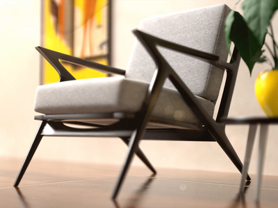 Chair animation motion graphics motion graphic motion design redshift3d cinema 4d cinema4d animation