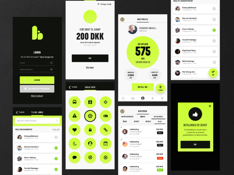 Teambox - App screens uiuxdesigner uidesign sketchapp sketch uiux app design branding ui design app