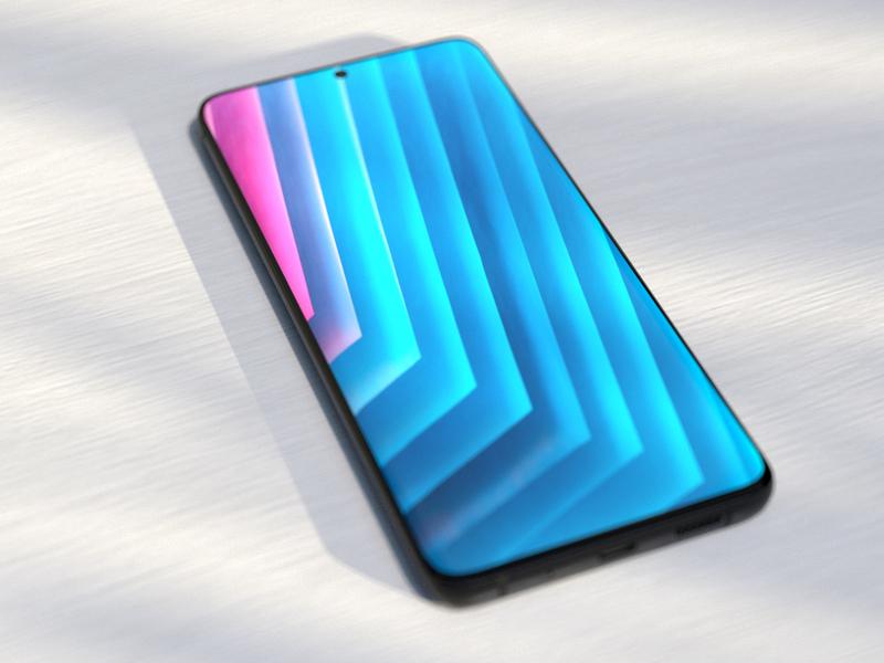 Samsung Galaxy S20 mockup samsung galaxy s20 samsung mockup samsung android smartphone mockup redshift cinema 4d