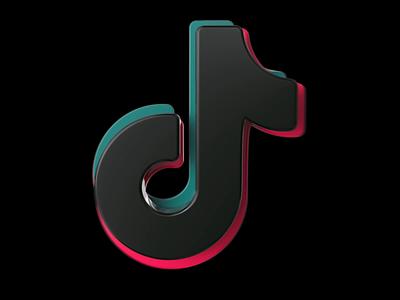 3D Icon - TikTok ui after effects design cinema 4d redshift3d app motion graphics icon logo