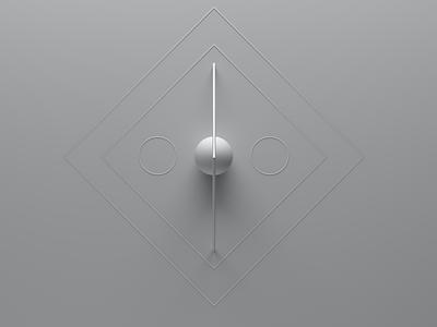 Geometrics #1 redshift3d c4d geometric 3d art 3d