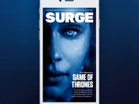 Surge - Digital magazine cover