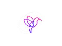 Express Flowers Logo Design