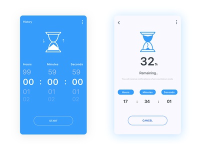 Daily ui - #014 Countdown Timer