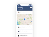 Daily ui - #020 Location Tracker