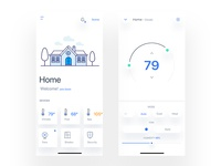 Daily ui - ##021  Home Monitoring Dashboard