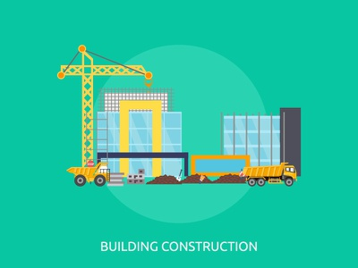 20 Building and Construction upgrade truck object crane building industry architecture construction