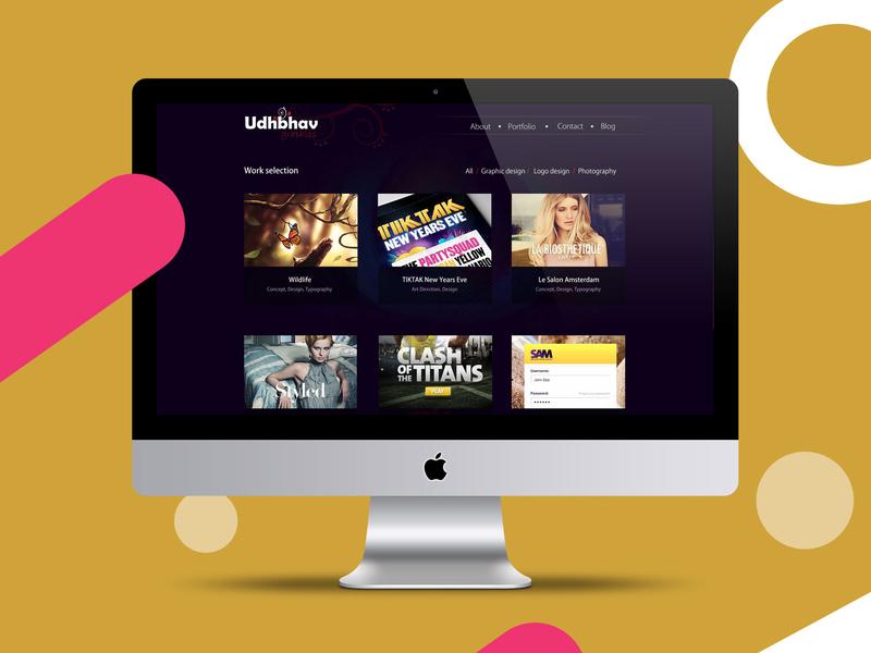 web template design ux design layout design website concept website design design flat ui ux brand
