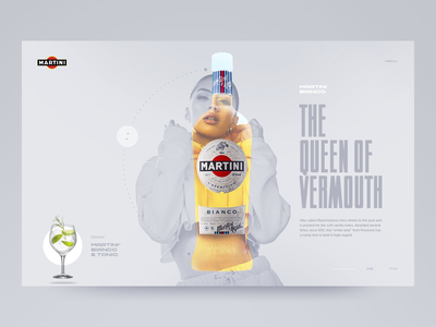 Martini Bianco website design web design webdesign website artdirection design typography