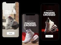 Sneakers and Stuff artdirection website website design design