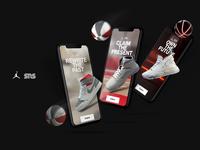 Sneakers and Stuff artdirection website design illustration design