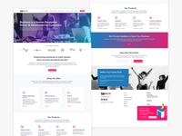 Buzops Home Page Desgin