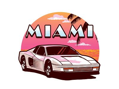 Miami  ferrari miami