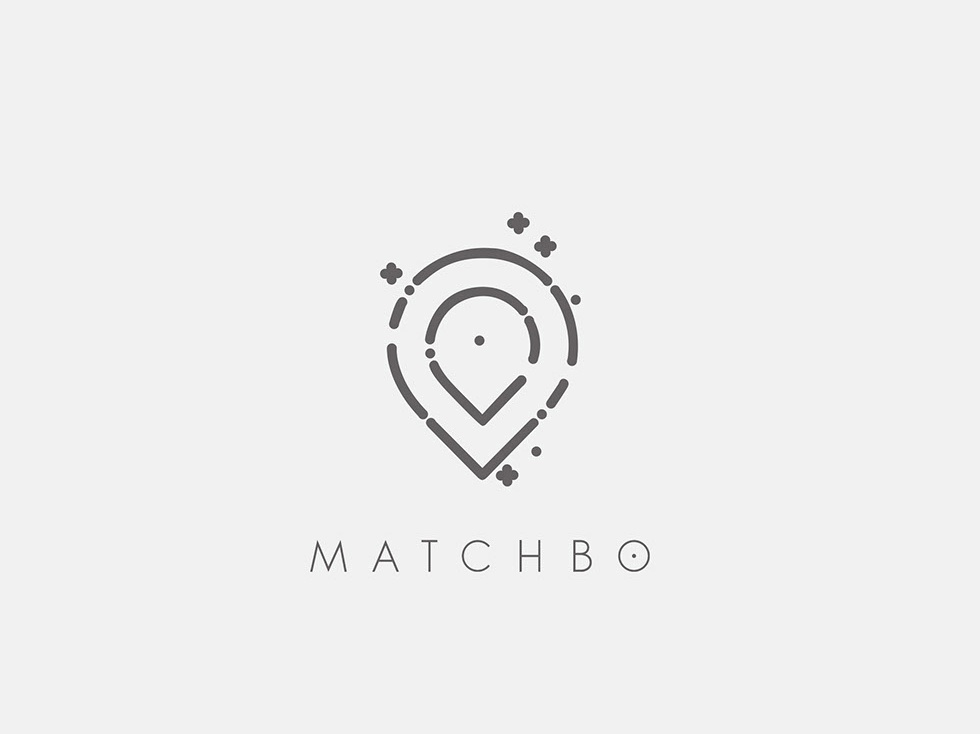Matchbo pointer play roleplaying game city bologna brand image graphic  design italy italian concept icon logo vector illustration branding design minimal