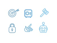 Security/Data Icons