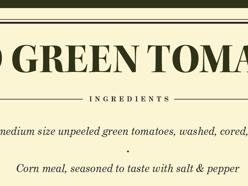 Cookbook Spread - First Direction cookbook typeset book design typography