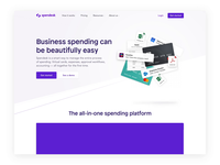 Spendesk - Hero Page Animation ✨