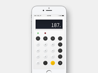 Dailyui004 - Calculator