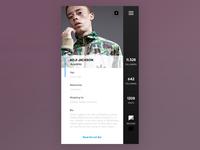 Dailyui006 - User Profile