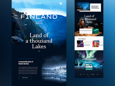Concept #19 - Finland, land of a thousand