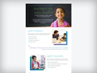 "Blackbaud ""ON"" for Small Schools Infographic"