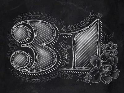 31 chalkboard chalk brushes ian barnard chalk brushes ipad pro hand lettering chalk lettering procreate happy birthday 31 sam stone