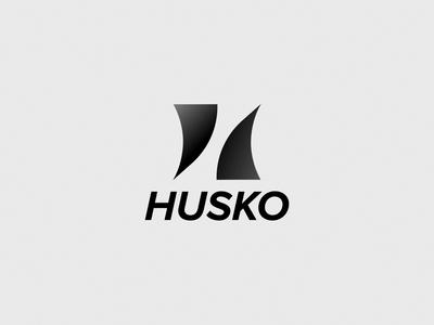 Husko Dj Animated Logo