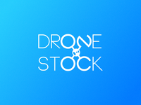 Drone Stock Animated Logo