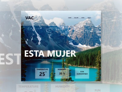 Esta Mujer design home ios android apps spring summer vacation ux ui