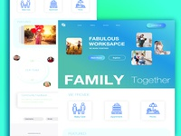 Family Landing Page