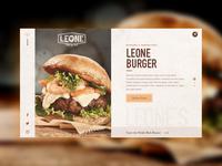 Leone's Burger Bar Concept
