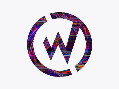 Glitchy WillowTree Logo photoshop glitch art giltch glitch effect logo