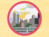 Jackson Street Bridge Badge