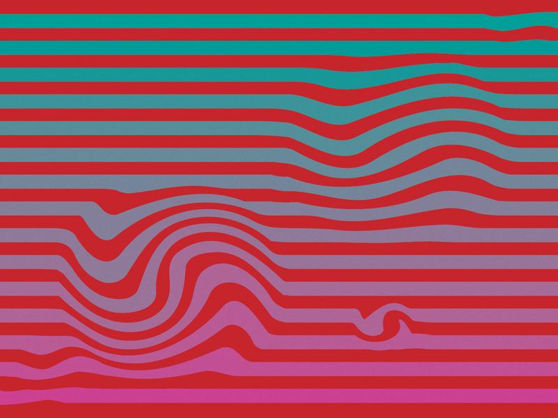 swirlydoooooo warped pattern vector illustrator swirls abstract stripes neon