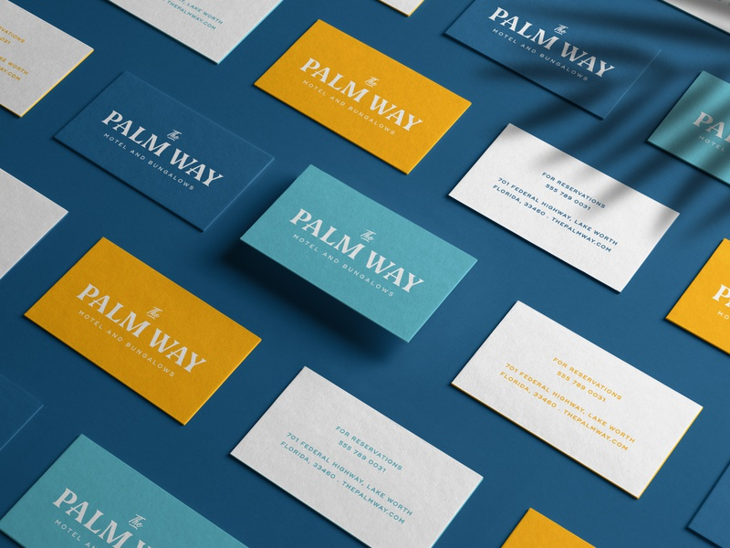 The Palm Way — Business Cards
