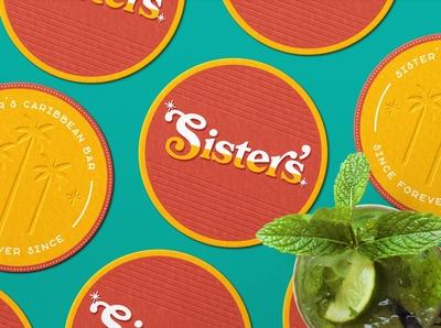 Sister's Caribbean Bar — Coasters