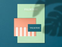 The Palm Way — Motel & Bungalows, Concept 1 Stationery