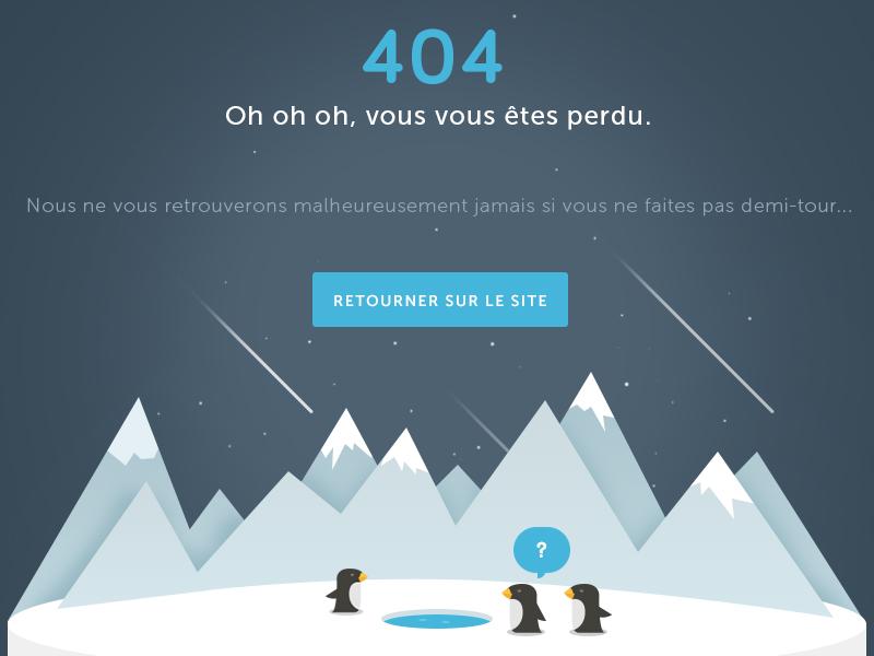 404 🐧 penguin 404 illustration error ui found missing not page