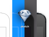 iPhone 5 Sketch Template