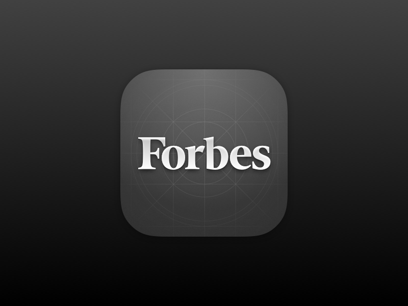 Forbes app reader magazine app icon ipad iphone ios