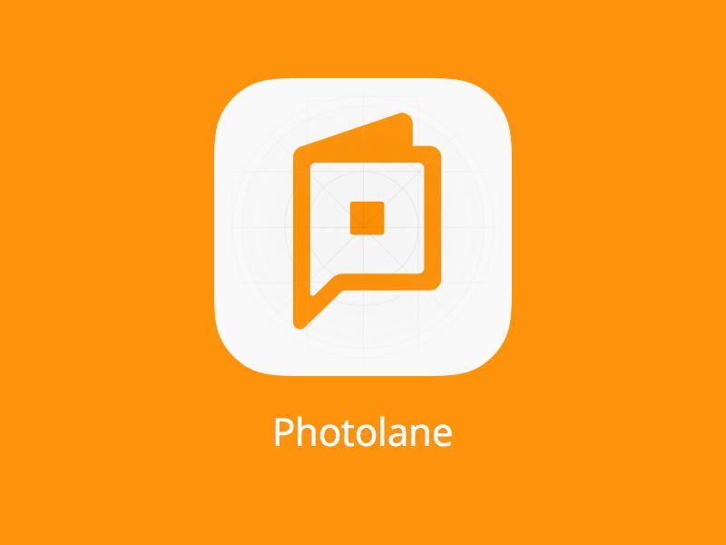 Photolane Icon icon product photobook app icon iphone ios